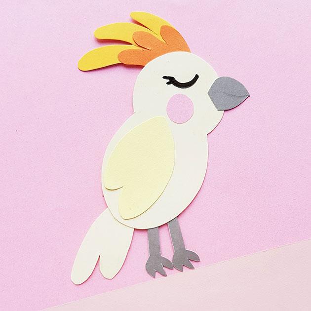 Cockatoo Paper Craft