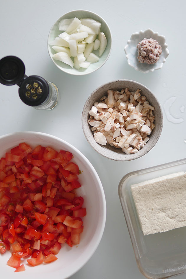 Tomato mushroom soup ingredients